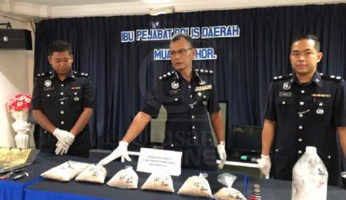 Dadah RM1.37 Juta, 4 Beranak Dicekup