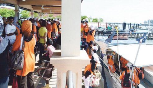Pulau Peranginan Di Terengganu Sesak