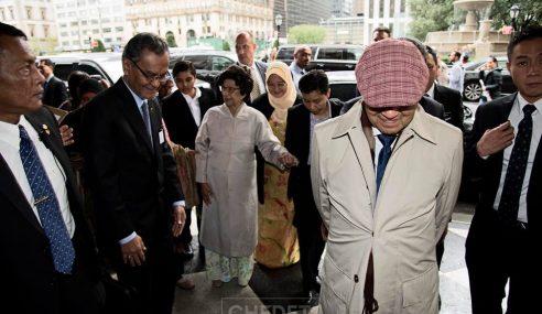 Hebat Mahathir Menginap Hotel Mewah Di NY
