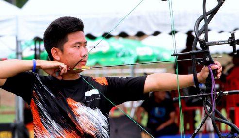 Pemanah Pahang Perbaharui Rekod Sukma Acara 90M Compound Lelaki
