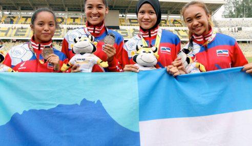 Model Sabah Jadi Tumpuan Di Trek Olahraga
