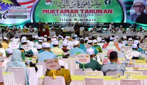 Muktamar PAS Lulus Usul Satukan Politik Islam-Melayu