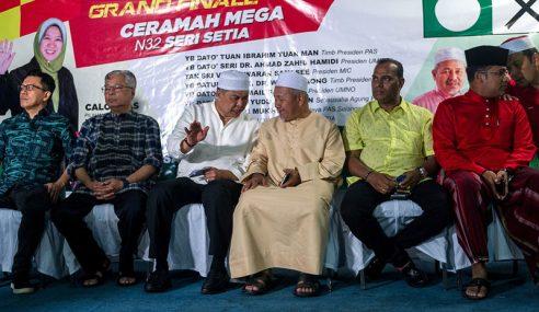 PRK Seri Setia: Parti Pembangkang Berkongsi Pentas Ceramah