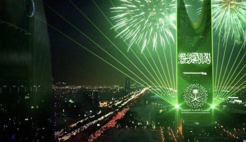 Hari Kebangsaan Arab Saudi Ke-88 Disambut Meriah