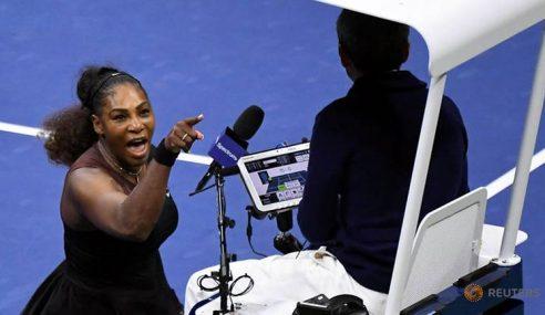 Mengamuk Di Final, Serena Williams Didenda AS$17k