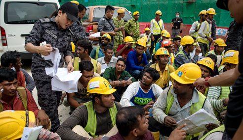 177 Warga Asing Ditahan Di Tapak Binaan Di Segambut