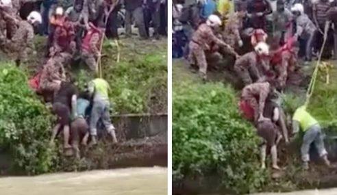 Pekerja Bangladesh Cemas Hanyut 300 Meter