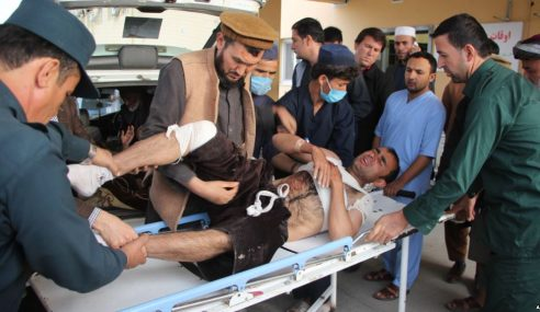 Bom Bawah Kerusi Bunuh Calon Pilihan Raya Afghanistan