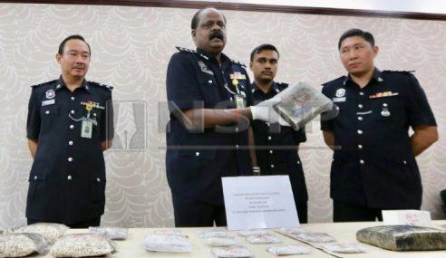Polis Tahan Suami Isteri, Sita Dadah Lebih RM260K