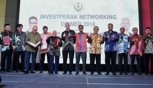 Perak Berjaya Tarik Pelaburan Hampir RM2 Bilion