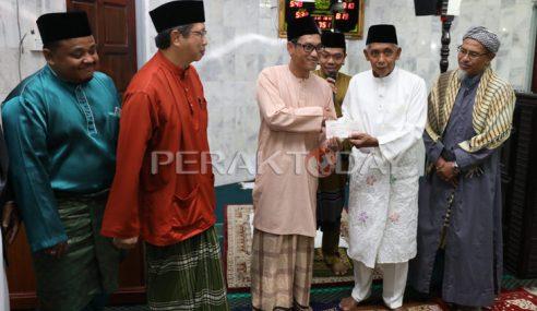 Masjid Jamek Idris Iskandar Shah I Bakal Dibaik Pulih