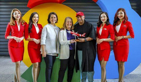 Google Cloud Bantu AirAsia Jadi Syarikat Teknologi Perjalanan