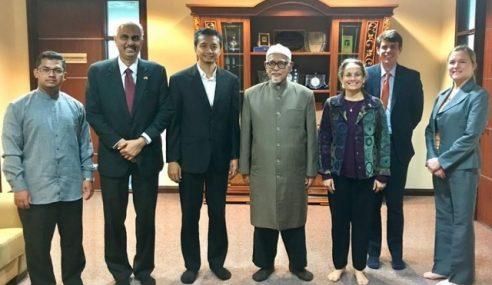 Abdul Hadi Dikunjungi Duta AS Selepas Puji Tun M?
