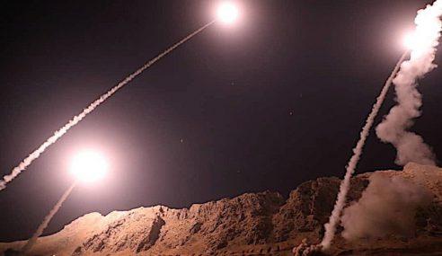 Iran Lancar Serangan Peluru Berpandu