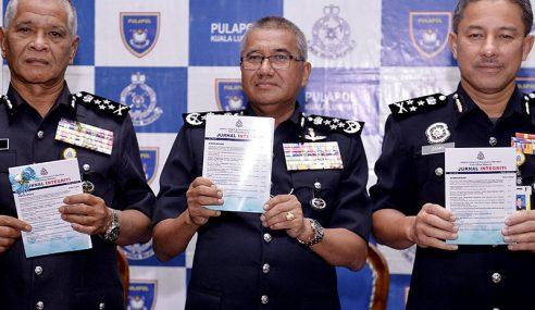 72 Anggota Polis Dibuang Kerja – Ketua Polis Negara