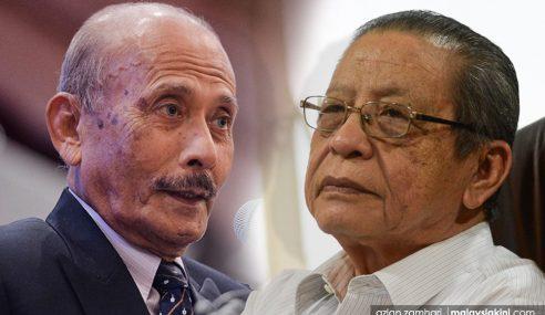 Lim Kit Siang Saman Hanif Omar