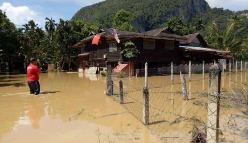 Jumlah Mangsa Banjir Di Kedah Makin Kurang
