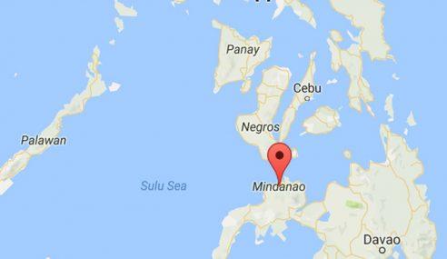 Gempa Bumi Sederhana Berlaku Di Mindanao