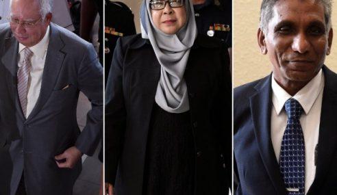 Kontroversi Najib, Irwan, Hasanah Didakwa Serentak