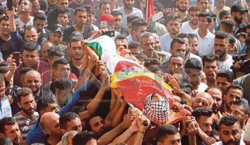 Askar Israel Tembak Mati Lelaki Palestin
