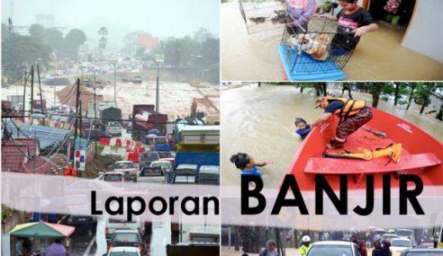 Mangsa Banjir Hilir Perak Kekal 205 Orang Pagi Ini