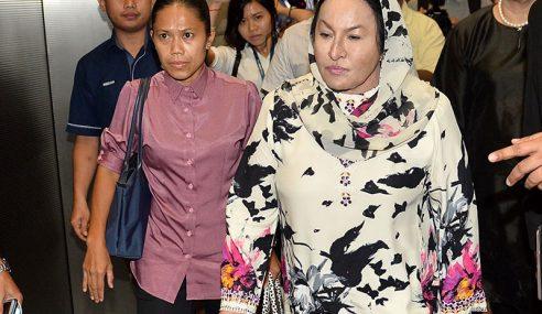Rosmah, 2 Anak Beri Keterangan Berkaitan 1MDB