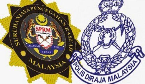 SPRM, PDRM Beri Tumpuan Kes Utama