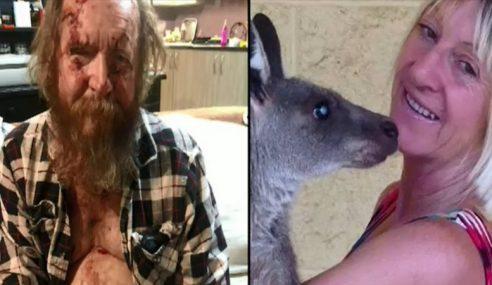 Suami Isteri Parah Diserang Kanggaru