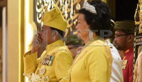 Sultan Sallehuddin Selamat Ditabal Sultan Kedah Ke-29