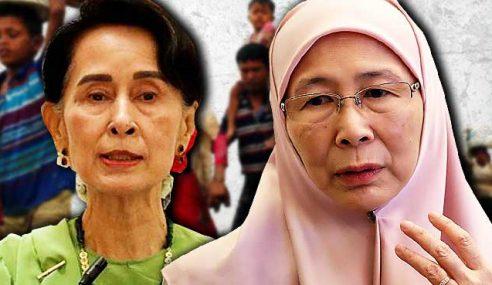 Wan Azizah Kesal Suu Kyi Abai Isu Rohingya