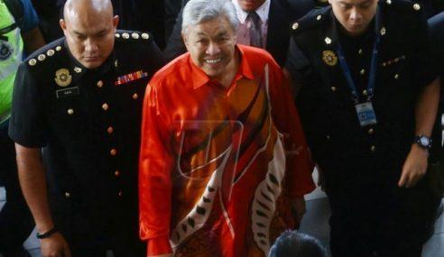 Zahid Dibebaskan Dengan Ikat Jamin RM2 Juta