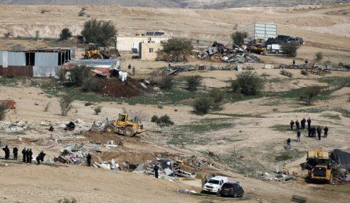Zionis Tangguh Roboh Kampung Badawi