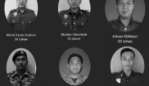 6 Anggota Bomba Lemas Mati Syahid – Mufti WP