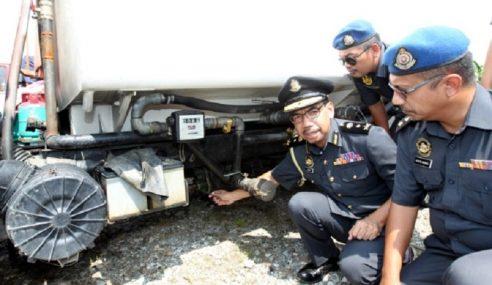 PPDNHEP Selangor Tumpaskan Sindiket Diesel Bersubsidi