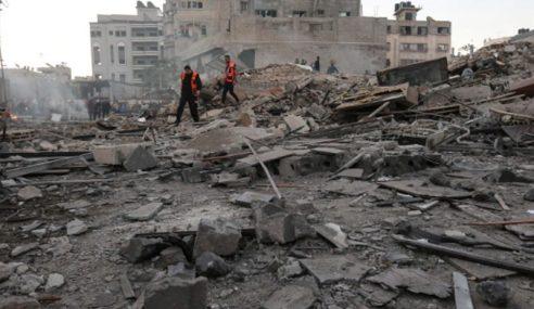 Israel Serang Balas 80 Sasaran Hamas Di Gaza