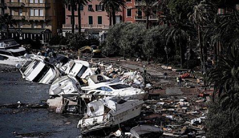 11 Maut Hujan Lebat Di Itali