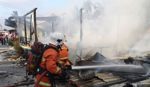 3 Rumah Musnah Terbakar, 31 Orang Hilang Kediaman