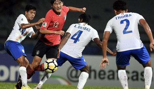 Korea Selatan Pasukan Terakhir Tempah Tiket Ke Piala Dunia B-17 2019