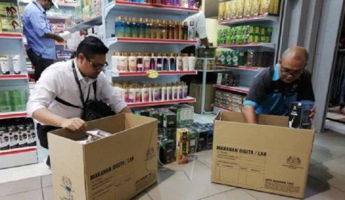 Jabatan Kesihatan P. Pinang Serbu Pemborong Produk