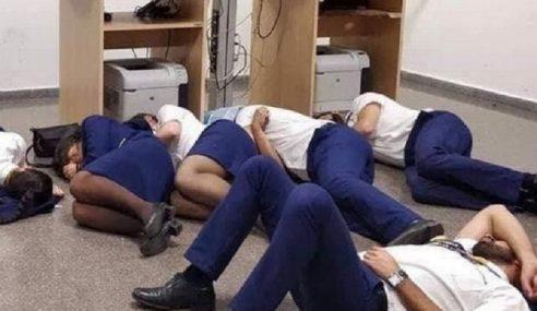 Kru Kabin Ryanair Terpaksa Tidur Atas Lantai