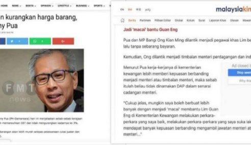 Najib Dedah 'Macai' LGE Kata SST Turun Harga Barang