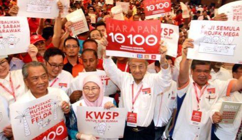 Menjelang Setahun, Rakyat Boleh Lupakan Janji PH