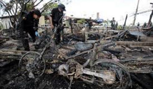 3 Polis Cedera Bom Motosikal Meletup Di Narathiwat