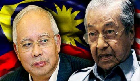 Hantaran Najib Meresahkan Mahathir