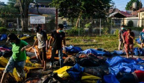 Indonesia Kebumi Lebih 1,000 Mayat, Rayu Bantuan Antarabangsa