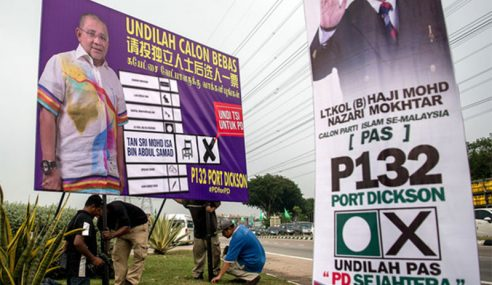 Perang Bendera, Poster Meriah Menjelang Pengundian Awal Esok