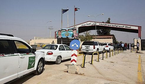 Pintu Sempadan Jordan Dengan Syria Dibuka Semula