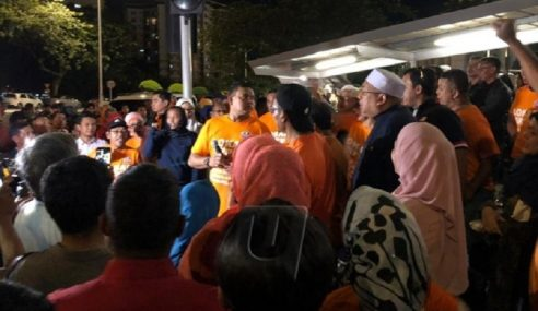 Lebih 200 Berkumpul Zahir Sokongan Kepada Ahmad Zahid