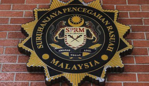 Kes RM90 Juta: SPRM Beku Akaun Bank, Rampas Aset