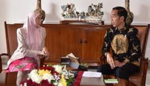 Dr Wan Azizah Kunjungi Presiden Jokowi